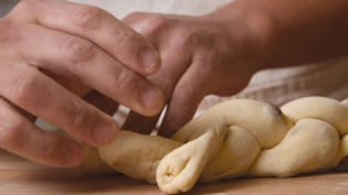 Braiding the challah